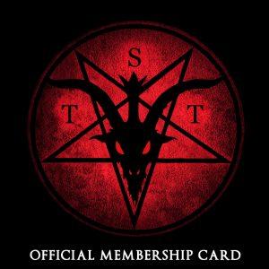 Logoen til Det sataniske tempel i USA.