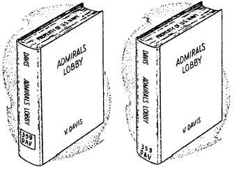 Position of book-card pocket in book