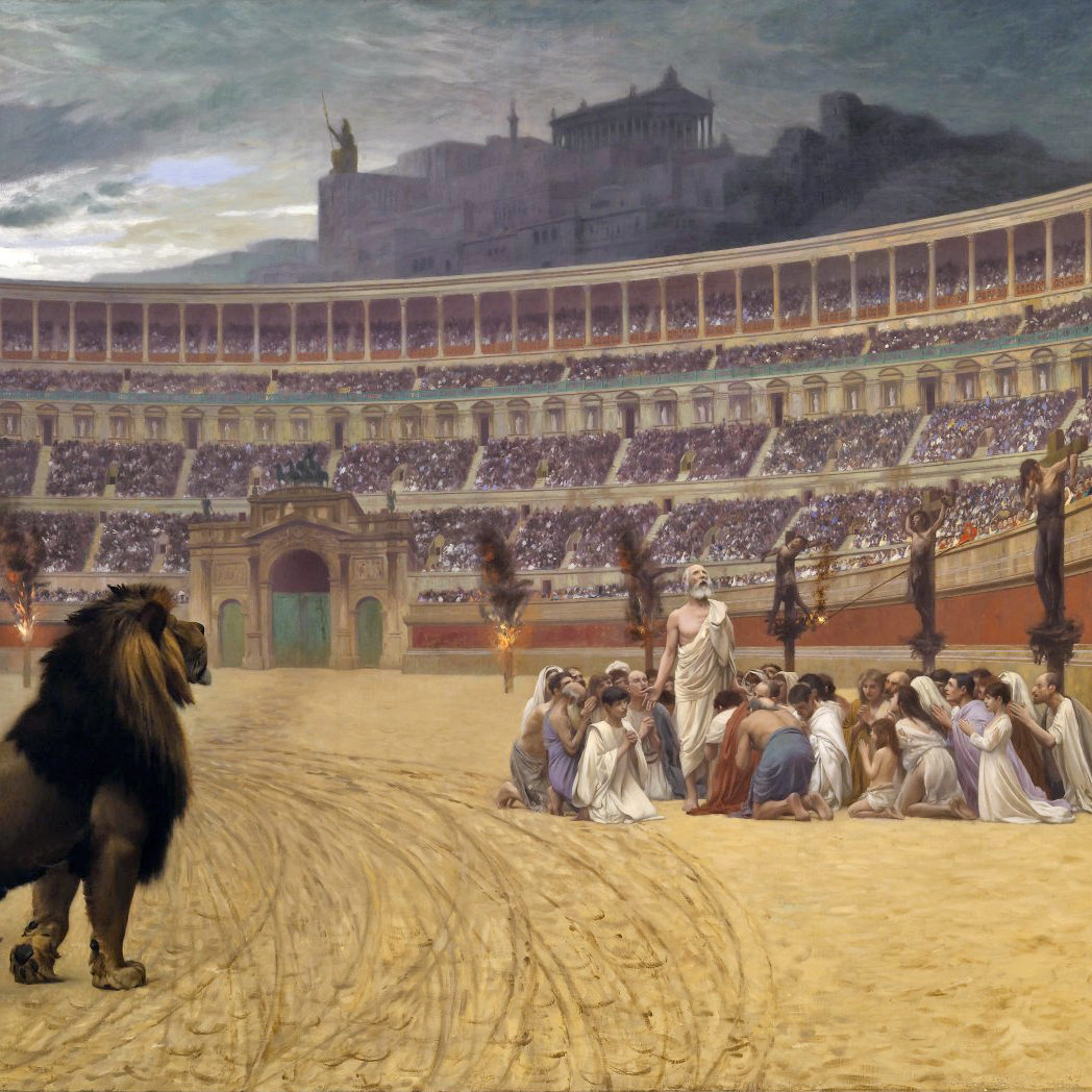Ble kristne forfulgt i Romerriket?