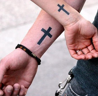 20 Small Cross Tattoos Matching Ideas And Designs