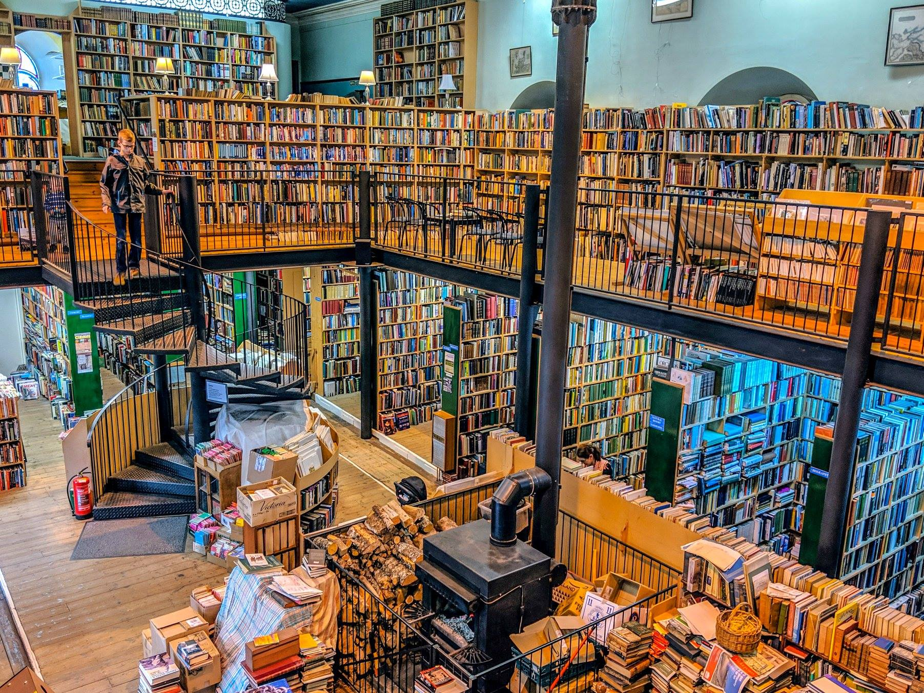 Best Secondhand Bookshops in the UK