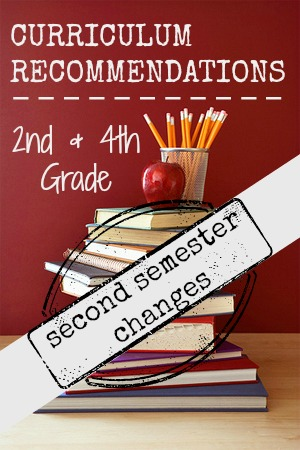 Our Classical Homeschool 2nd Semester: Curricula Choices and Weekly Checksheets
