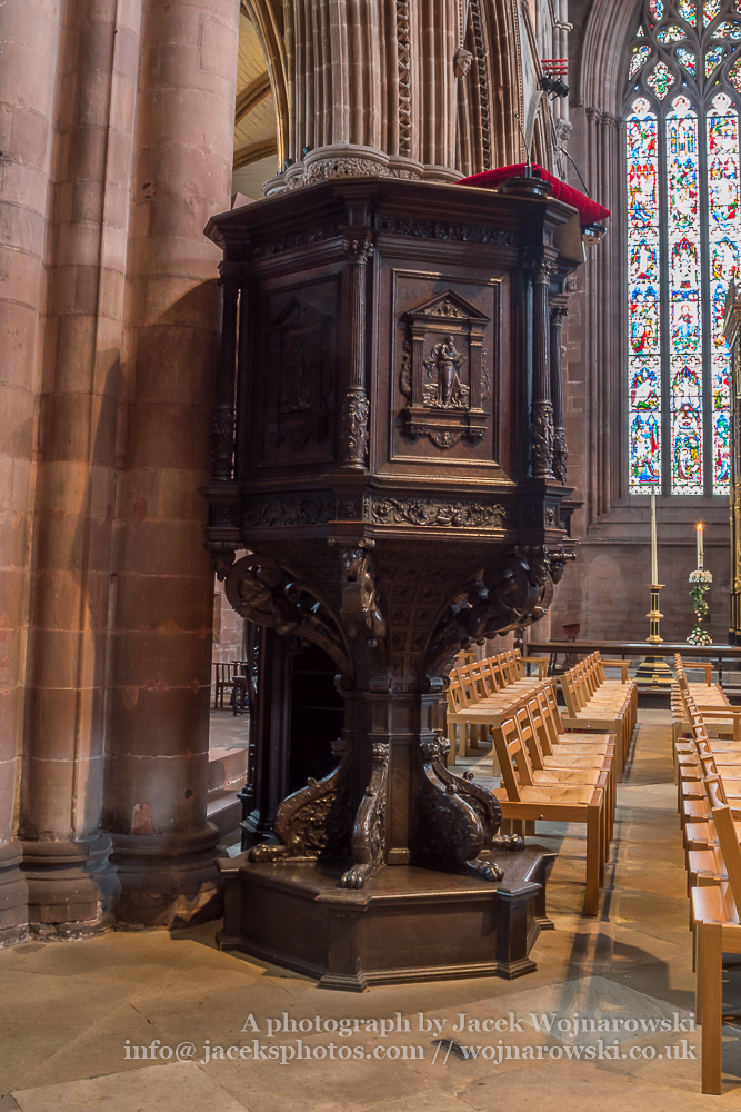 Carlisle Cathedral Pulpit
