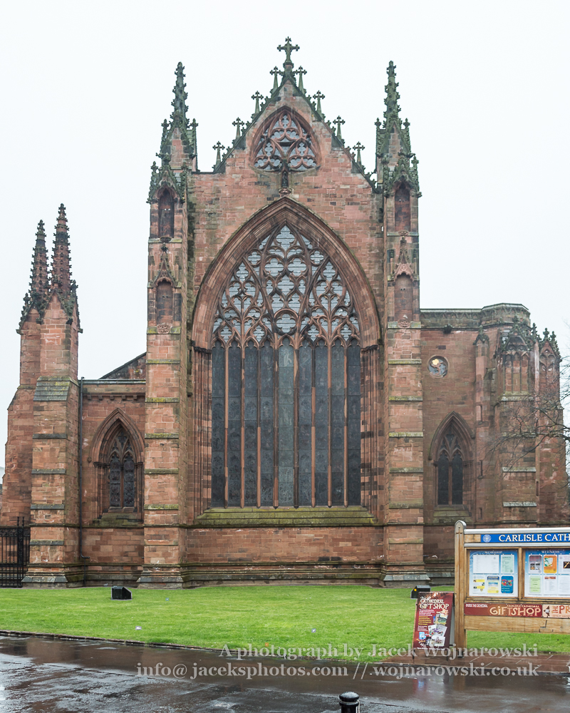 Carlisle Cathedral West Facade