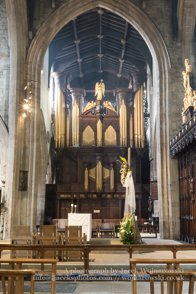 Newcastle Cathedral, Cathedral Church of St Nicholas Organs A