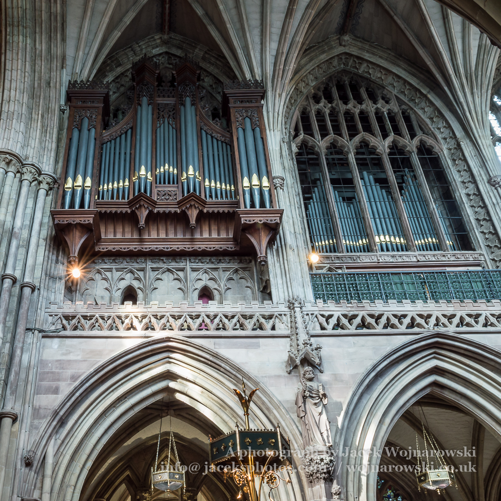 Lichfield Cathedral Organs, Staffordshire, UK