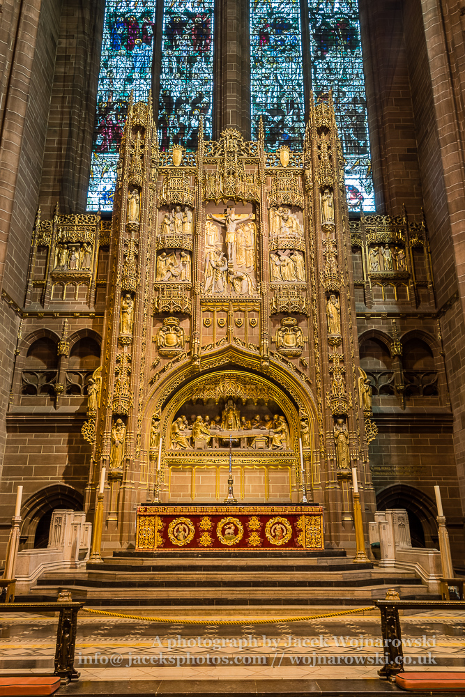 Liverpool Cathedral altar A