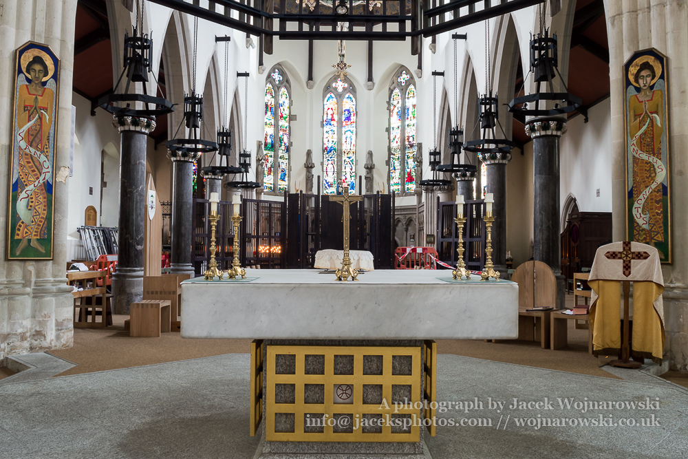 Plymouth Cathedral Altar,