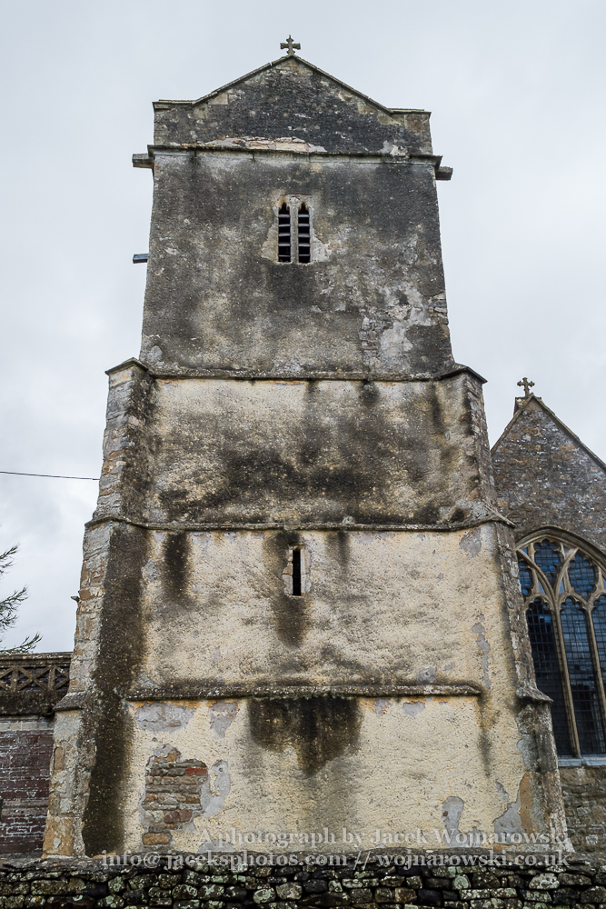 Charfield, St James Church, Wotton-under-Edge, medieval church Tower