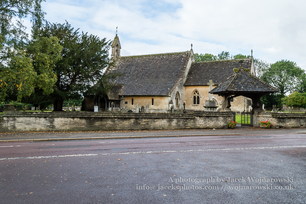 Tetbury, St Savior, victorian church - street view