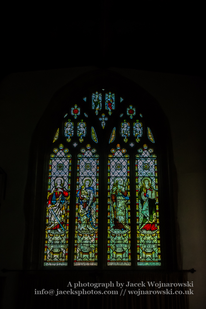 All Saints Church in Langport Stained Glass B