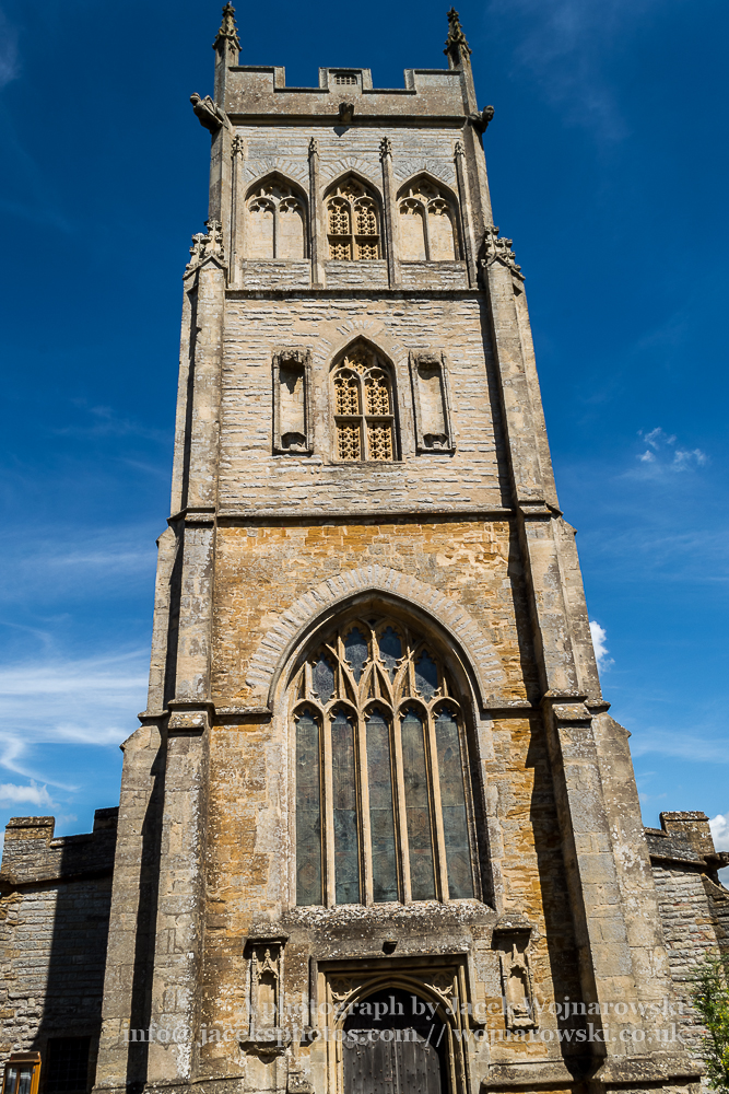 All Saints Church in Langport Tower