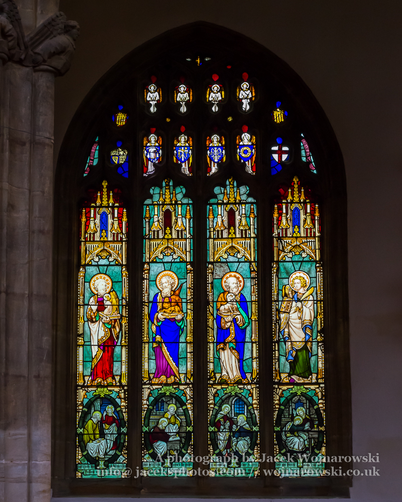 Church of St Mary Magdalene in Taunton - Stained Glass A