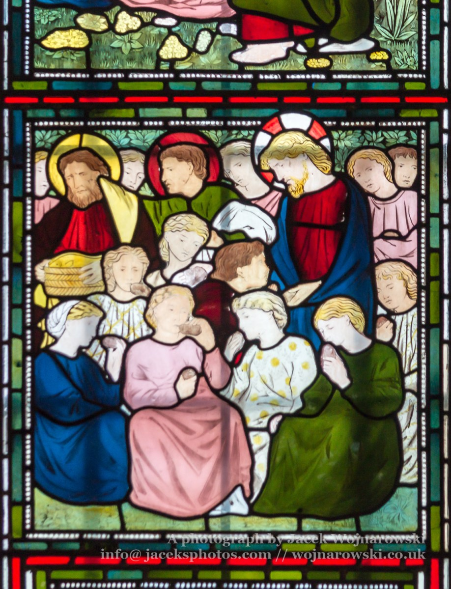 Sunderland Minster Narthex Stained Glass G close up