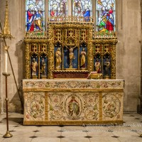 Church of St John the Baptist St Catherine Chapel Altar A