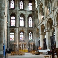 Peterborough Cathedral The North Transcept A