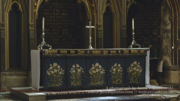 Altar - Lady Chapel in Bristol Cathedral