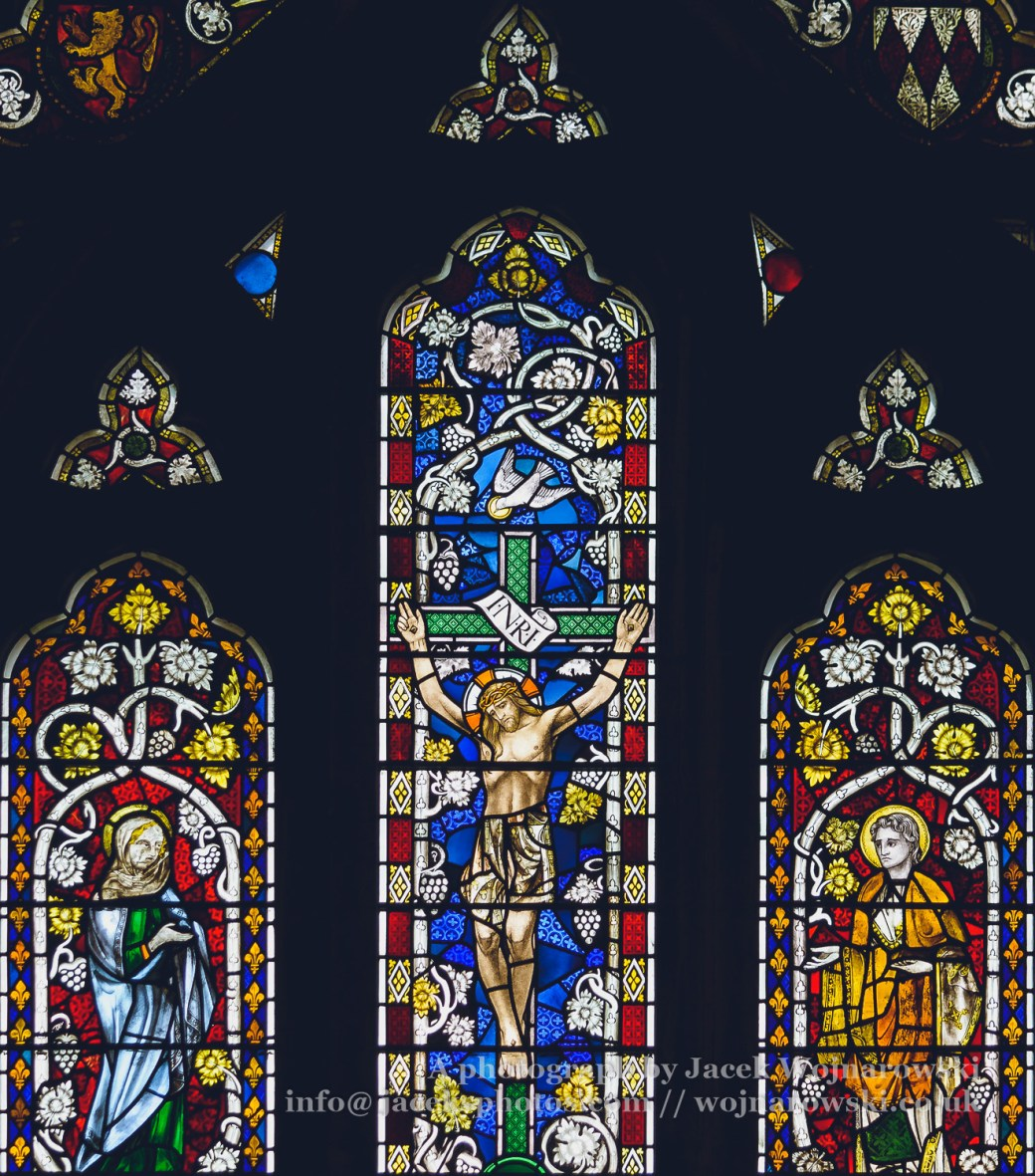 Stained Glass - Lady Chapel in Bristol Cathedral