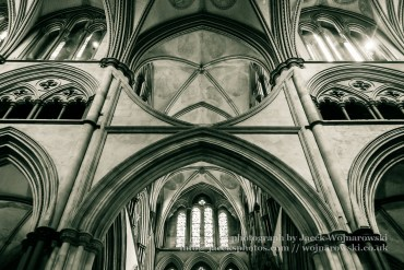 Salisbury Cathedral Arches in Chancel D