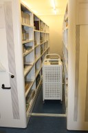 New strongroom at Dr Williams's Library