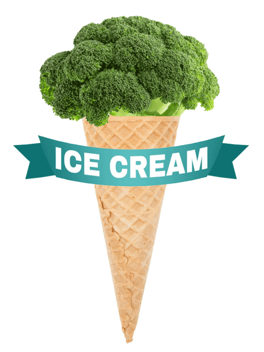 broccoli icecream