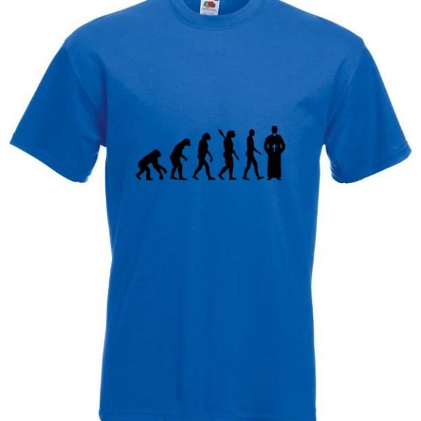 Priest Evolution TShirt Blue