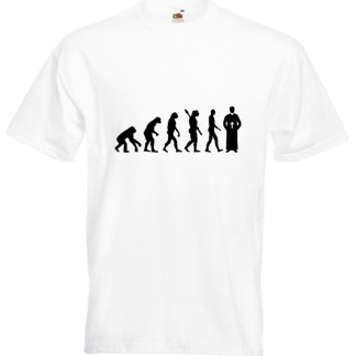 Priest Evolution TShirt White