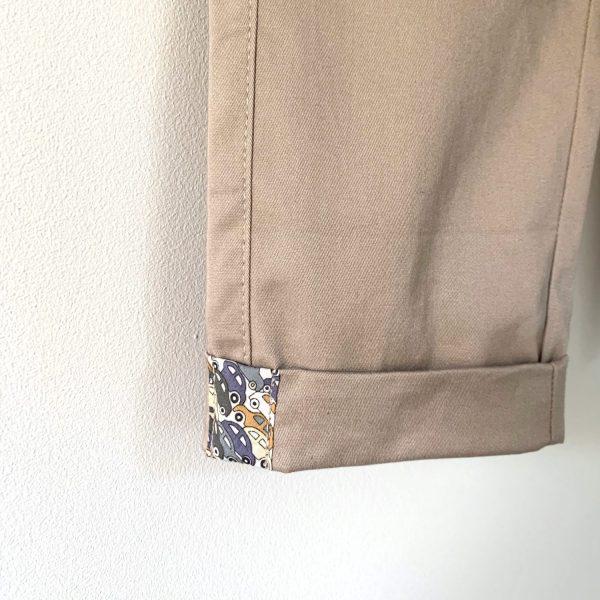 Revers d'un pantalon