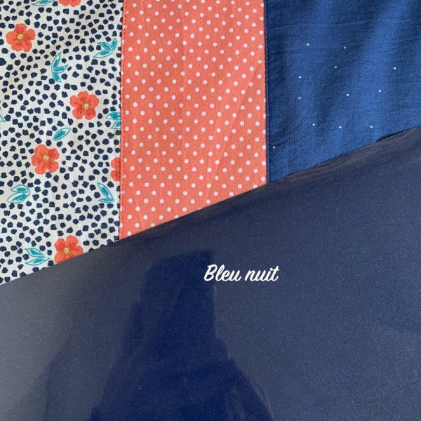 Thermoflex Bleu nuit à associer aux tissus