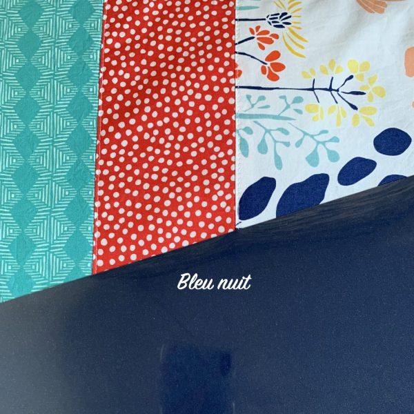 Thermoflex bleu nuit à associer avec les tissus
