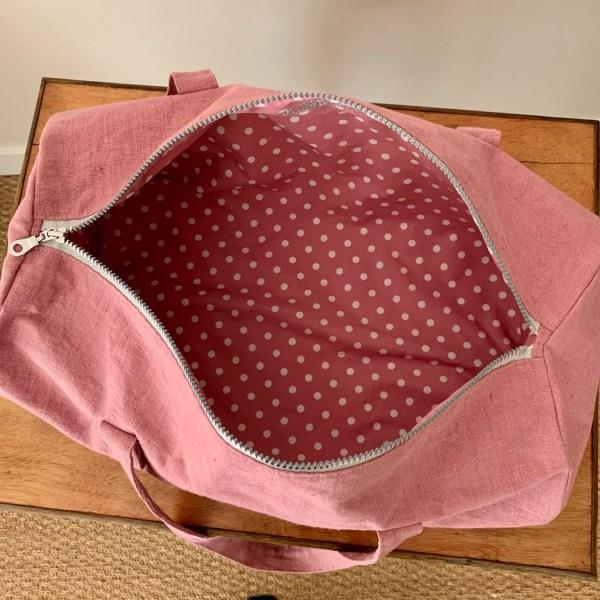 Intérieur du sac bowling