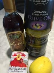 Spanish ingredients