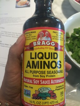 Just as tasty as soy sauce, but soy free & gluten free!