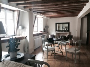 Our apartment in Le Marais