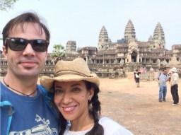 Touring Angor Wat