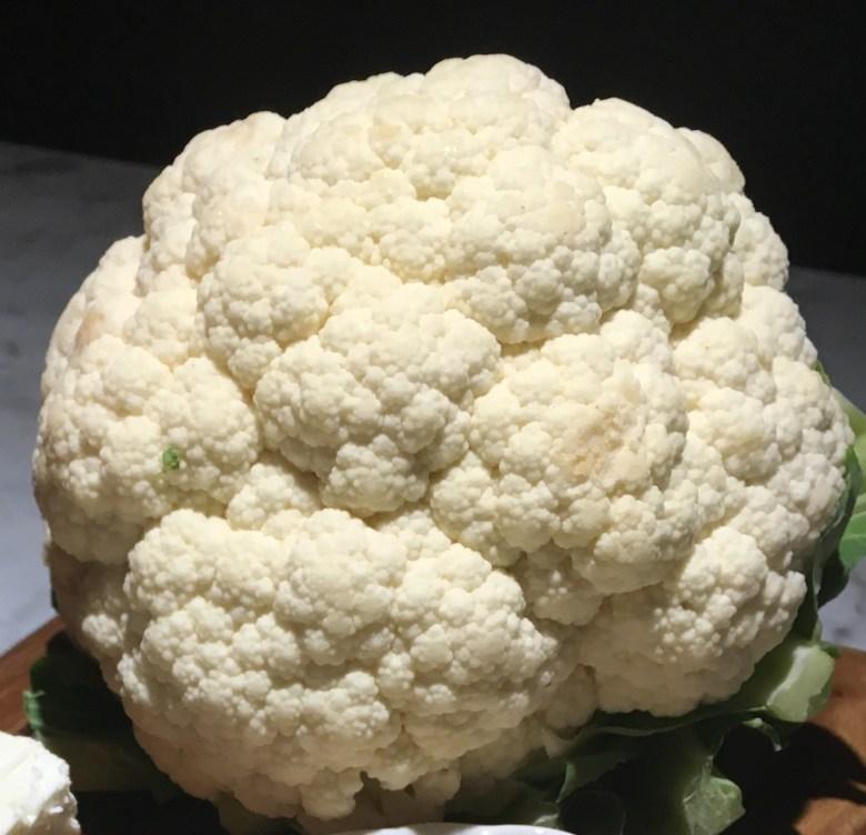 The humble cauliflower.