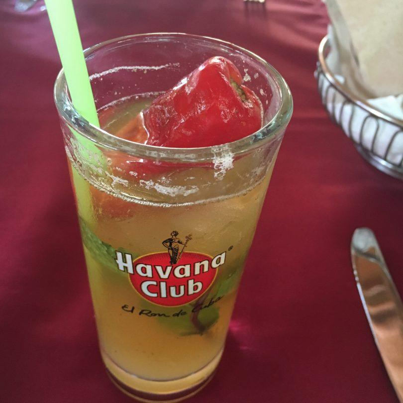 Mojito at Ajiaco Cafe