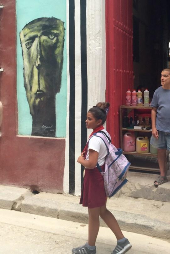 School Girl in Old Havana