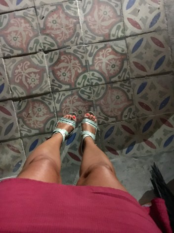 Gorgeous tile floors.