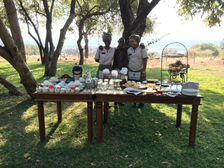 High Tea at Chobe Chilwero