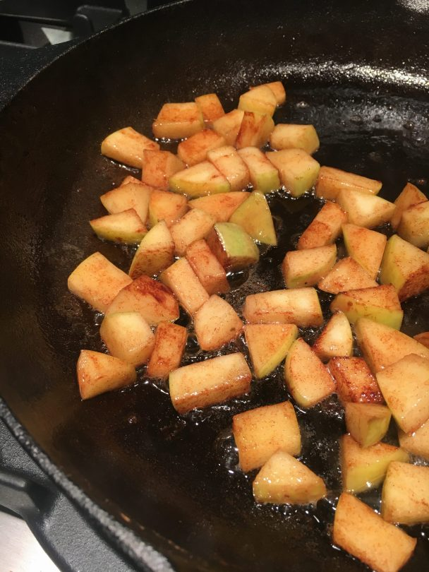 Apples, Cinnamon and Brown Sugar