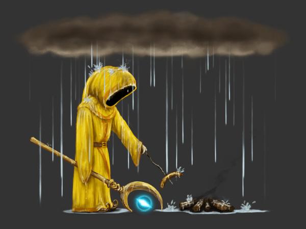 8) Lluvia