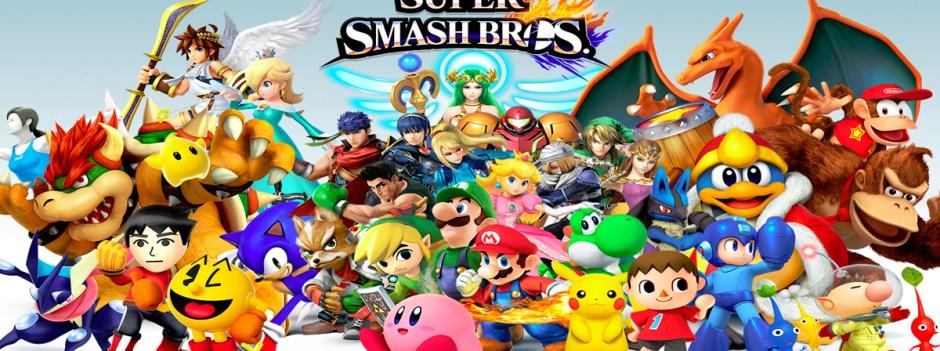 Super Smash Bros banner