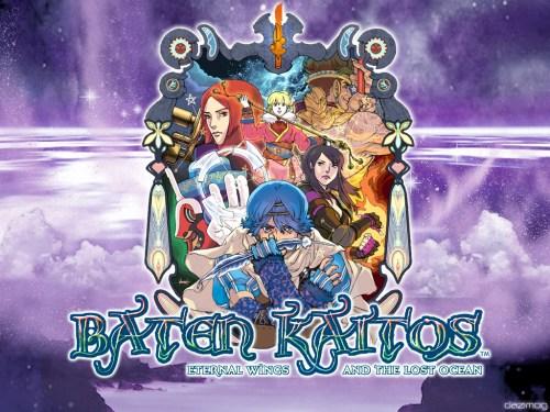 Todos los protas de Baten  Kaitos en este fan art.