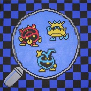 Bacterias en la versión NES