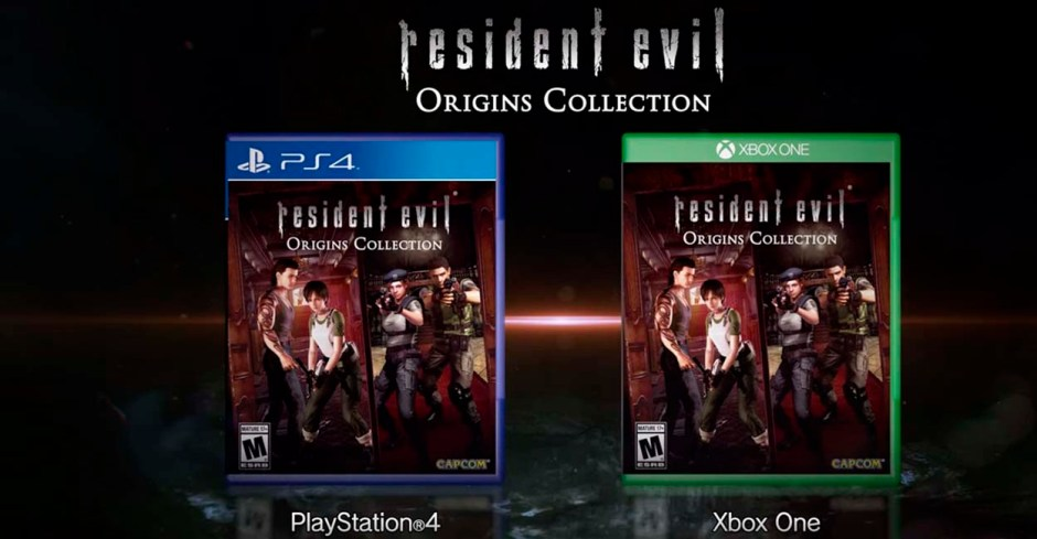resident evil origins collection - imagen ps4 y xone