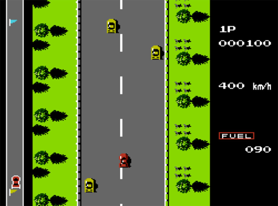 road fighter - tramo 1