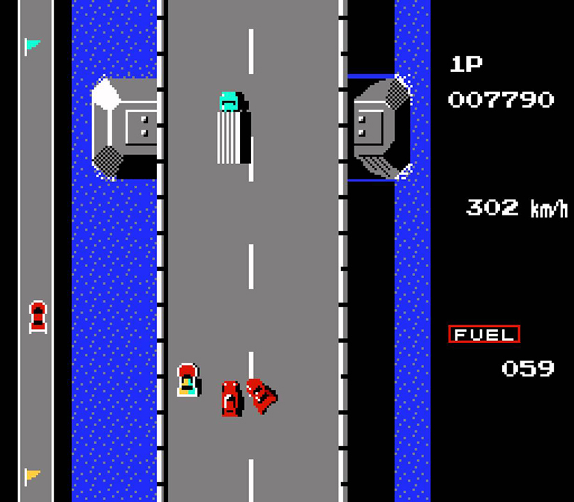 road fighter - tramo 2