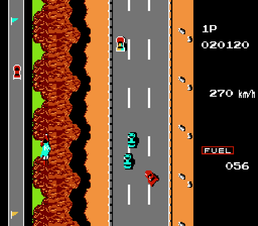 road fighter - tramo 4