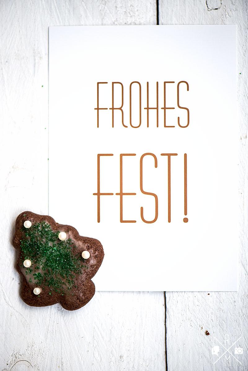 Weihnachtskekse - Schokoladenweihnachtsbäume , einfache Schokoladenkekse zum Ausstechen | relleomein.de